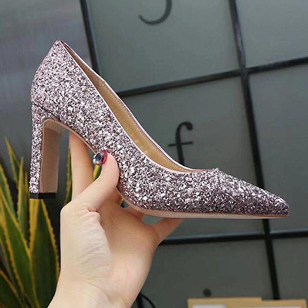 Lüks Tasarımcı Yüksek Topuklu Rugan Peep Sivri Burun Kadın Platformu Gelinlik Ayakkabı Pompalar 35-39