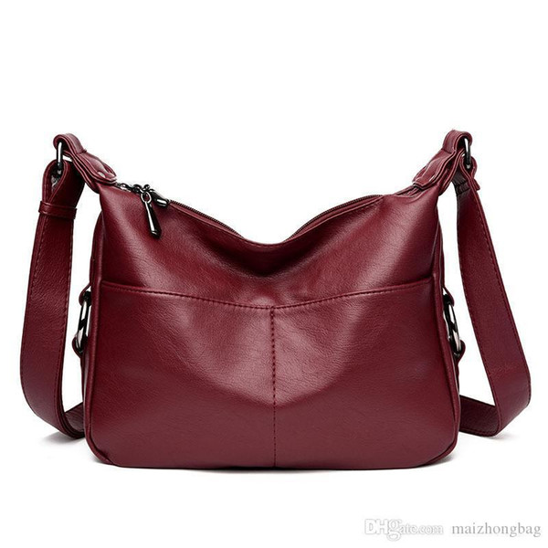 Nice New Fashion Ladies Handbags Shoulder Bags Croosbody Bags Soft Pu Leather Designer Hangbags High Quality