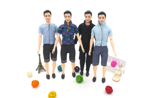 top popular Cute Boy Friend 14 Joints 30CM Doll Toy, Various Clothes, Prince Costume Casual Clothes Suit, Christmas Kid Birthday Girl Gift, Collect, 6-2 2021