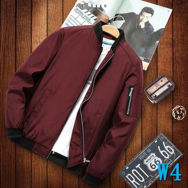Printemps et Automnes Designer vestes pour hommes de luxe de veste avec des poches pour hommes Mode Casual Hot Marque Hommes Vêtements Haute Qualité WholesalesW4