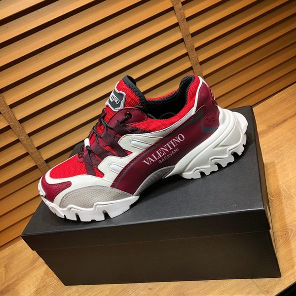 best selling 2019t luxury high quality men's casual shoes, fashion wild sports shoes, original packaging shoe box delivery, yardage: 38-45