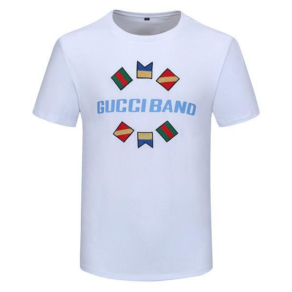 2020 Summer Street wear Fashion Italian 3 d printing Men High Quality with smooth silky cotton Tshirt Casual Women Tee T-shirt M-3XL B1