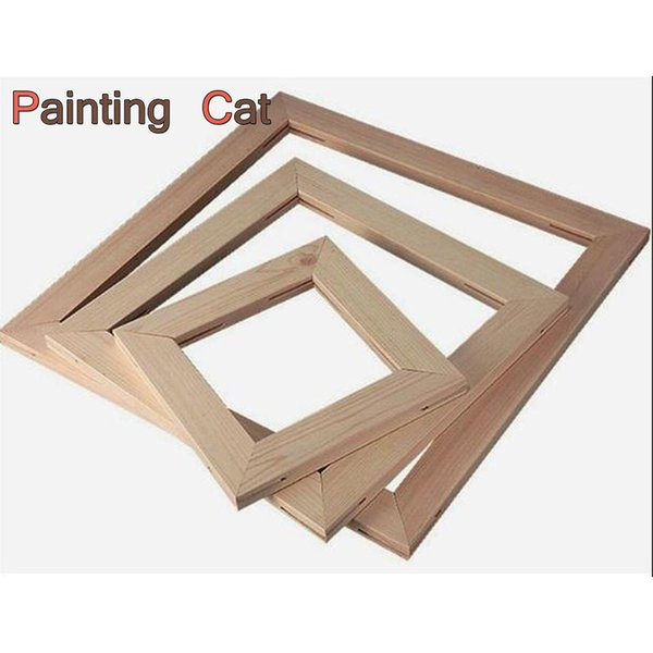 Cheap Wood Frame For Canvas Painting Picture Factory Provide DIY Wall Photo /Poster / Family /Art Wooden Wedding Frame Home