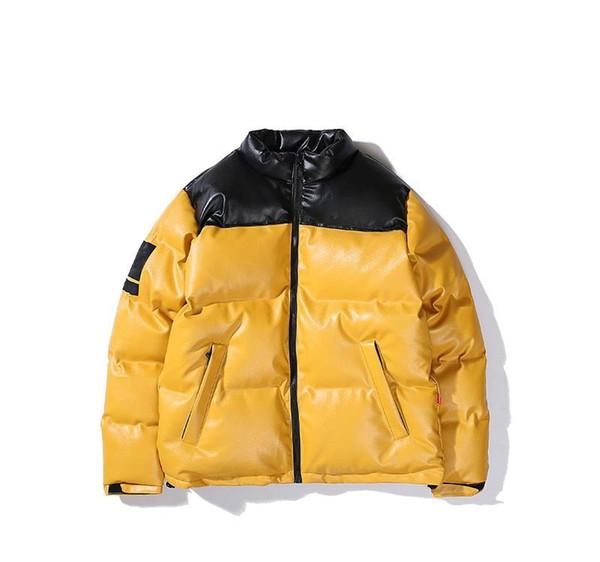 Lüks Aşağı Ceket Erkek Tasarımcı Parka Ceket Erkekler Kadınlar Yüksek Kalite Sıcak Ceket Tasarımcı Palto 3 Renkler Boyut M-XL Dış Giyim