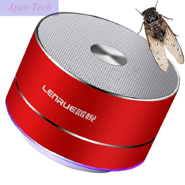 Portable A2 Metal Wireless Bluetooth Speaker With TF Card Super Bass Mini Amplifier with Mic For Mobile Phone Computer Subwoofer
