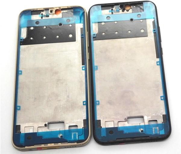 Nuevo original Bisel frontal Cubierta de la carcasa del marco intermedio Soporte para LCD para HUAWEI P20 Lite Nova 3E P20LITE Nove3E Botón de volumen de alimentación