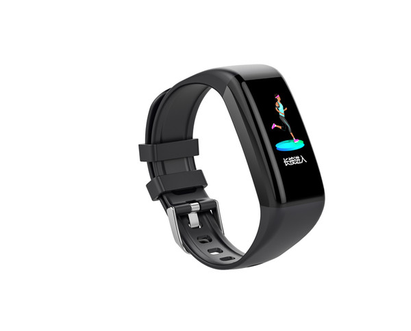 C21 smart bracelet 1.14 inch IPS color screen heart rate sleep monitoring message reminds sports step counter waterproof watch