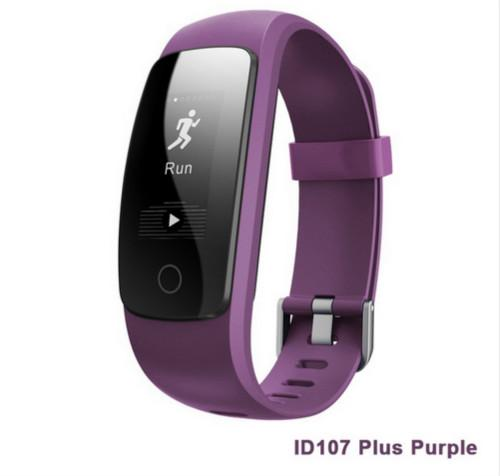 New ID107 Plus HR Bracelet IP68 Waterproof Smart Band Heart Rate Bracelet Monitor Wristband Health Fitness Tracker For Android OS VS MI Band