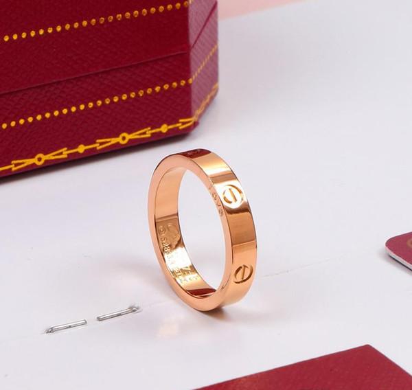 Oro rosa 4mm nessuna pietra