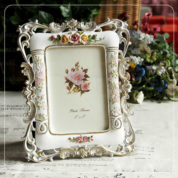 flower picture frame resin p frame countryside 6 inch 7 inch family decor