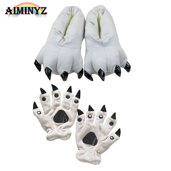 Shineye Hot Animal winter Warm Lovely A Variety Of Colors Soft Soles Christmas Gifts Cartoon For Animal Pajamas Fingers Toes