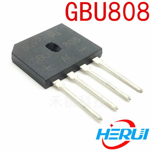 GBU808 8A800V rectifier bridge