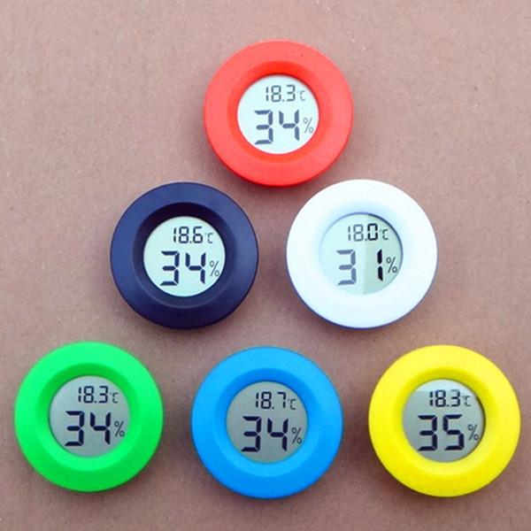 best selling Mini LCD Digital Thermometer Hygrometer Temperature Meter Aquarium Fridge Freezer tester Temperature Humidity Meter detector