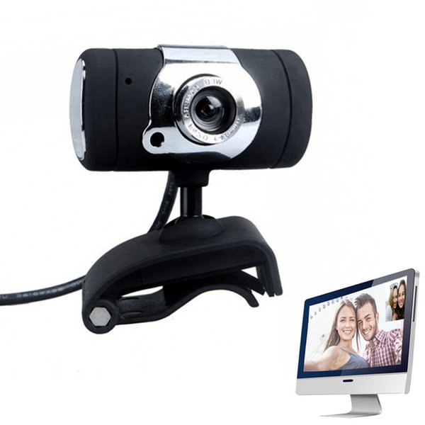 Newly Fashion HD Webcam USB2.0 Computer Web Camera A847 Built-in Microphone For PC Laptop Camcorder