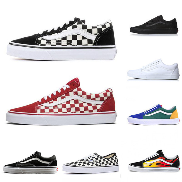 van off the wall canvas sneakers old skool sk8 fear of god
