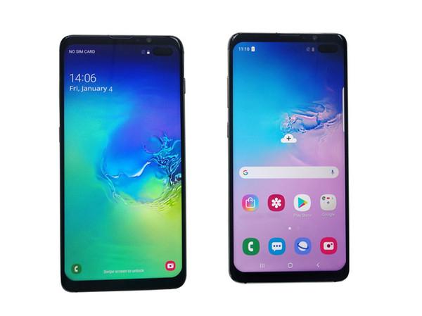Goophone S10 S10 + smartphones Android 8.0 octa core 1G RAM 8G montré Fake 4G LTE 6,5 pouces HD déverrouillé téléphone intelligent Téléphone portable