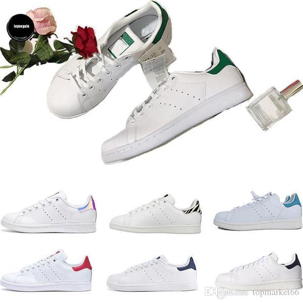 topmarket66 / Mit Box Hohe Qualität Stan Smith Chaussures Fashion Luxury Designer Trainer Weiß Schwarz Kleid De Luxe Turnschuhe Männer Frauen Freizeitschuh