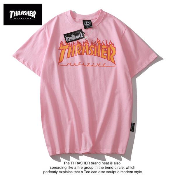 Mens Designer T-shirt D'été Marque Tees Lettres Imprimer De Luxe Tops Mode Shorts Manches Feu Modèle Mens Femmes Lâche Marque T-shirts