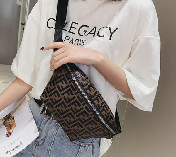 Nouveaux créateurs de mode taille sacs femmes Fanny Pack sacs sac à dos ceinture sac hommes femmes argent téléphone téléphone Handy taille sac à main en plein air coffre poitrine