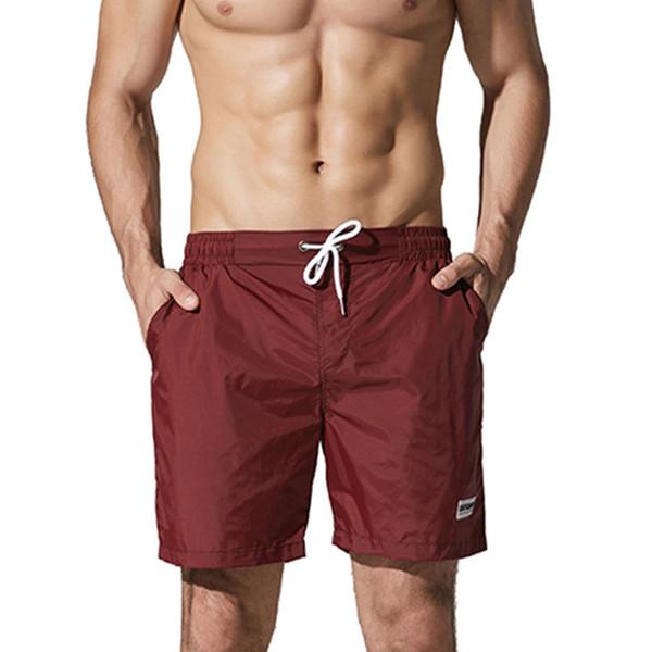 Swimwear Men Swimming Shorts For Men Swim Boxer Swimming Trunks Nylon Elastic Waist Beach Wear Swimsuit Swim Briefs Man