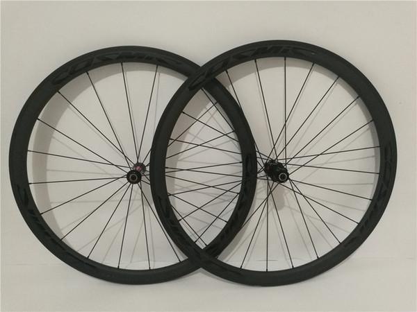 2019 NEW OEM Carbon Bike Wheels 25mm Width 50mm 38mm Clincher Carbon Road Bicycle Wheels Cycling bike racing Wheelset Novatec Powerway Hub