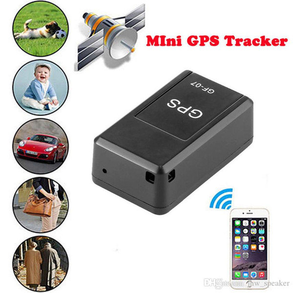 New Pet Car Smart Mini GPS Tracker Anti-Lost Tracer For Pet Dogs Cats Trackers Finder Equipment Original GF-07 GPS Tracking Device