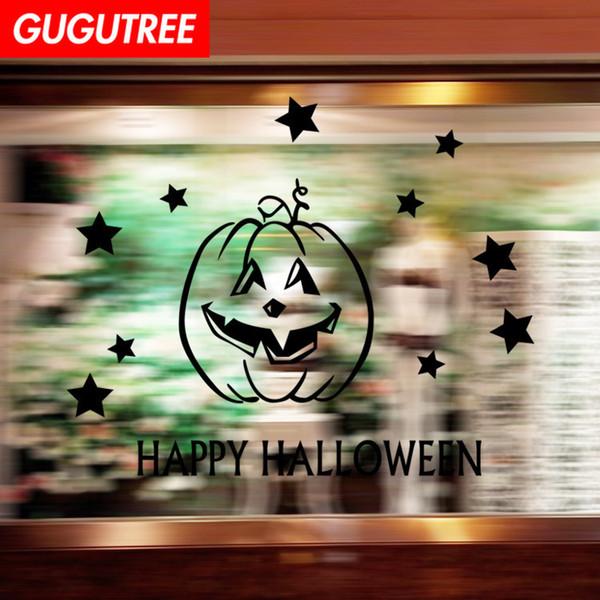 Decorate Home Hallowmas Halloween cartoon art wall sticker decoration Decals mural painting Removable Decor Wallpaper G-2125