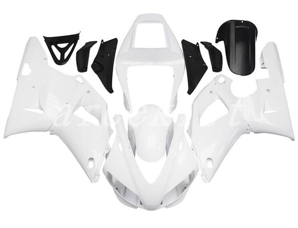 New ABS motorcycle Fairing Kits Fit For YAMAHA YZF-R1 98 99 YZF1000 1998 1999 R1 bodywork set custom all white glossy