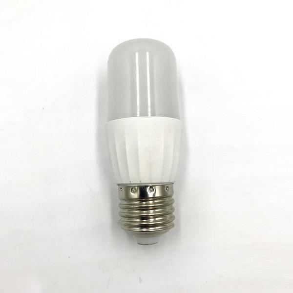 LED 6W Plastic Aluminum Cylindrical Bulb For Home, Kitchen, Night Light,  White / Warm White / E27 / E14 Energy Saving Light Bulbs Light Bulb Types  ...