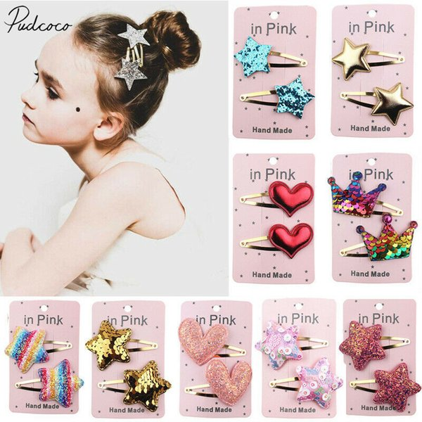 NEW Baby Infant Toddler Girls adorable mini hair bow Headband 0-18 mos