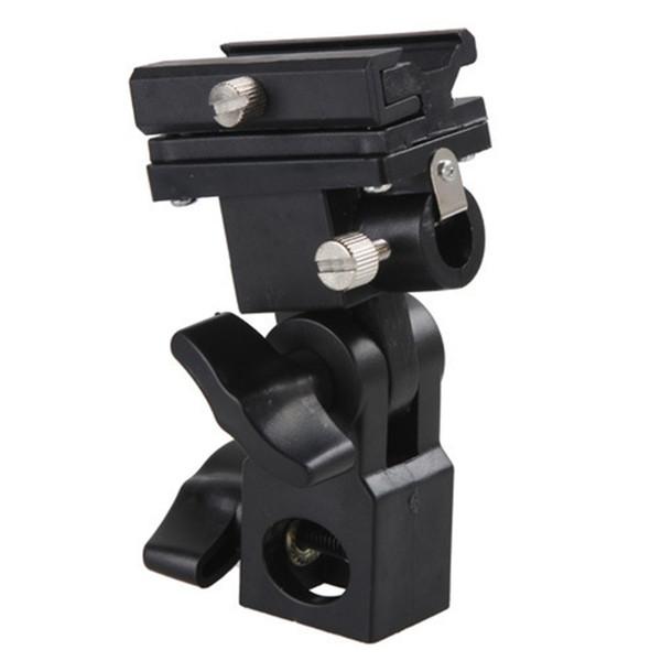 Cheap Sports Camcorder Cases Swivel Flash Hot Shoe Umbrella Holder Light Bracket Stand Mount Adapter For Studio Light Type B