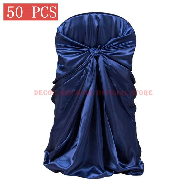 10Pcs Removable Stretch Dining Chair Seat Cover Wedding Banquet Decor Red