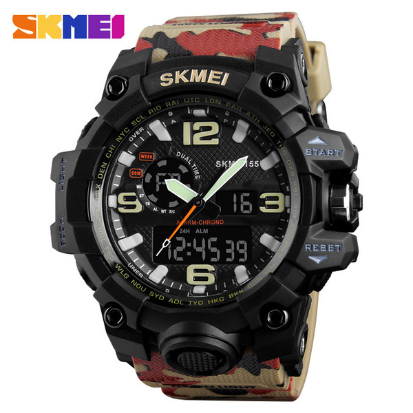 Camouflage Watch men