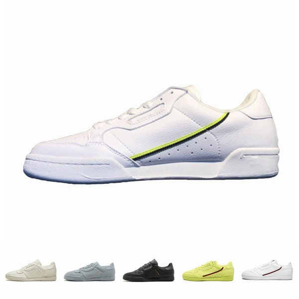 2019 Calabasas Powerphase Grey Continental 80 Casual shoes Kanye West Aero blue Core black OG white Men women Trainer Sports Sneakers