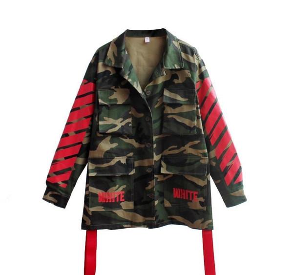 2019 новые горячие продажи мужские дизайнерские куртки полосатый печати мода карман пальто Спорт на открытом воздухе толстовка с капюшоном хип-хоп плюс размер S-XL