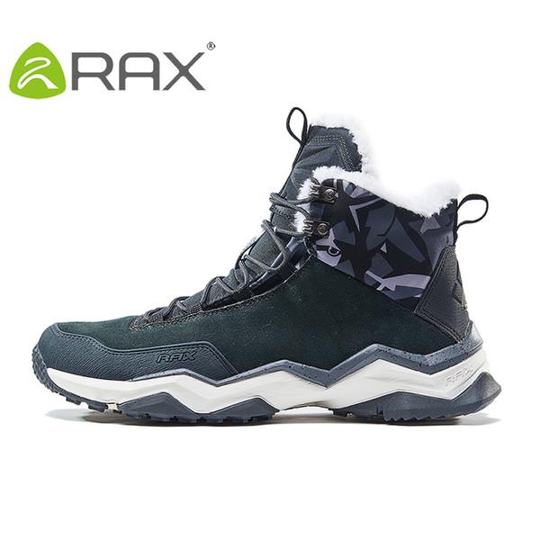 Senderismo de invierno Botas Trekking de Montaña antideslizantes ShoesBreathable cómodos zapatos suaves de montaña de los hombres para los hombres RAX Profesional