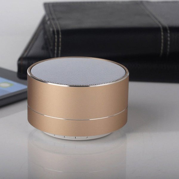 2019-New A10 Small Steel Gun Portable Mobile Phone Card Speaker SIM Card Bluetooth Speaker Singing Cellphone