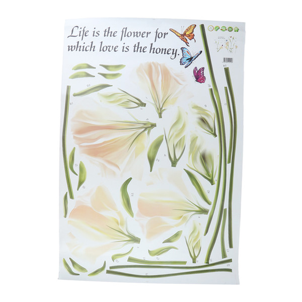best selling Wall Stickers and Murals Home Decor for Living Room Home Improvement Vinyl Removable Mural Paper