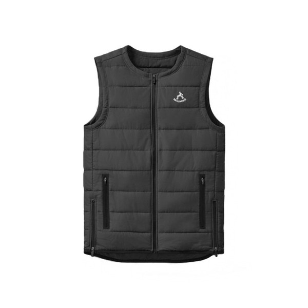 Vest Mens Autumn Winter Warm Sleeveless Jacket 2019 New Fashion Casual Waistcoat Men Photographer Vests Black Slim Outwear Male
