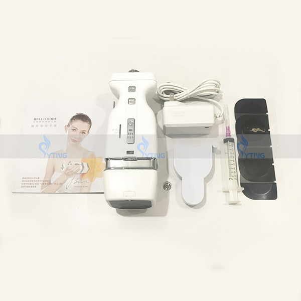 New Arrival High Intensity Focused Ultrasound Hello Body Safe HIFU Weight Loss Cellulite Reduce Liposonix Slimming Machine Home Use 2 Depths