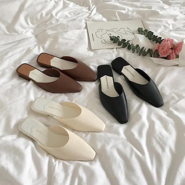 Yaz terlik flip flop kadınlar bayan terlik açık pantuflas mujer bayan ayakkabıları zapatos mujer 2019 ayakkabı kadın parkside