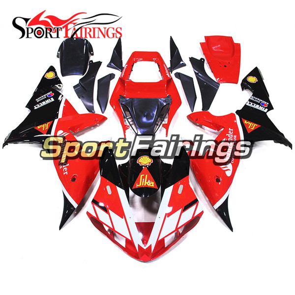 Santander Red Black White Fairing For Yamaha 2002 2003 YZF1000 R1 Full Plastic Pieces R1 02 03 Bodywork Panels Injection Bike Covers