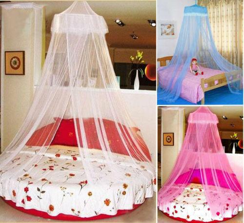 2019 House Lace Mosquito Net Bed Single Double King Midge Insect Fly Canopy Netting Interior o exterior
