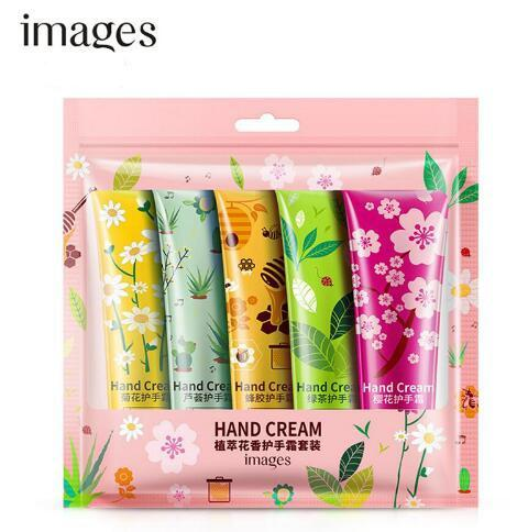 best selling Hot Sale 3sets lot Images Hand Cream Set Moisturizing Hand Cream Nourishing soft and smooth Hand Care