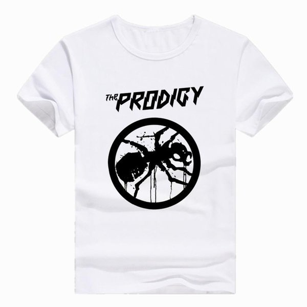 Азиатский размер печати The PRODIGY EXPERIENCE THE PRODIGY Metal rock Band футболка с коротким рукавом О-образным вырезом футболка для мужчин женщин HCP733
