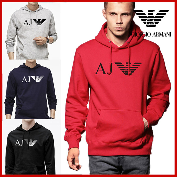 2018 Euramerican brand new autumn and winter net red men's and women's coat and Hoodie sweater.
