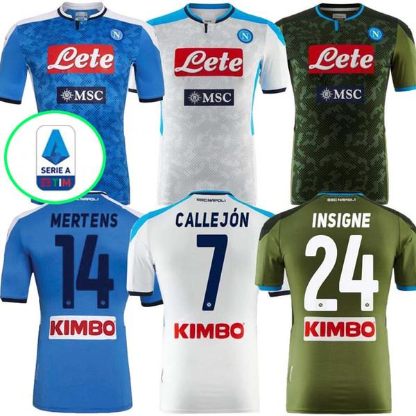 2019 2020 Thail Napoli Home Away Soccer Jersey Napoli Football Jerseys Shirt For Men 19 20 Napoli Hamsik Insigne Milik Shirt Black Yellow Dhgate Com Imall Com