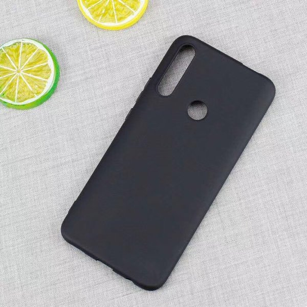 Black Matte TPU Cases For Huawei P Smart Z Y7 Y5 2019 Samsung Galaxy A10 A30 A50 Soft Silicone Rubber Cell Phone Cover