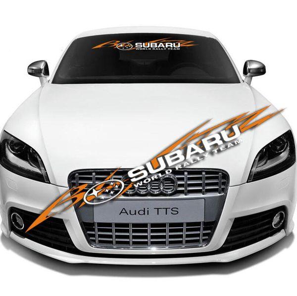 Automobile For Subaru Impreza Sti Side Racing Stripes 023 Decals Stickers Graphics Lu Y03uh Car Stickers Aliexpress