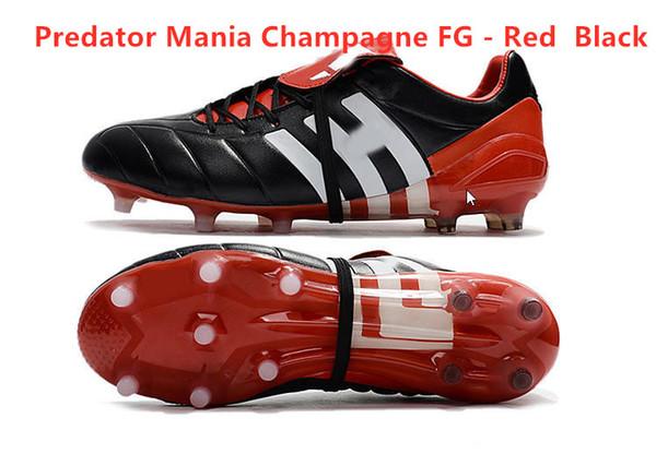 Predator Mania Champagne FG - Kırmızı Siyah